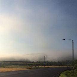 Hanover Industrial Park at 7am.