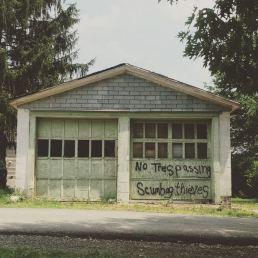 If garage walls could talk.