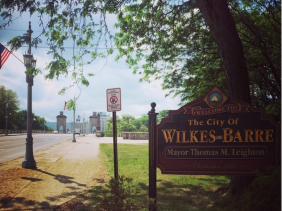 Wilkes-Barre City limits on the West Side of the Susquehanna by me, @ebreznay