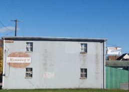 Ghost signs of Nescopeck.