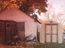 Backyards of Nescopeck.