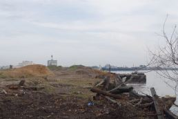 Pier Under Construction.