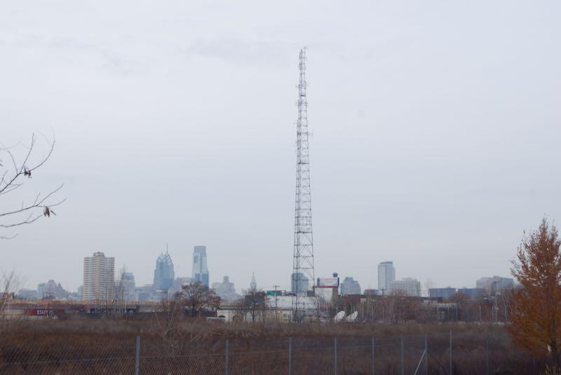 The lesser known Philadelphia skyline.