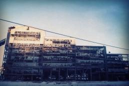 Old Saint Nicholas Coal Breaker, Mahanoy City, PA.