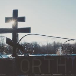 Ss. Peter & Paul Orthodox cemetery, Centralia, PA.