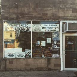 An old auto shop on Northampton Street, Wilkes-Barre, PA.