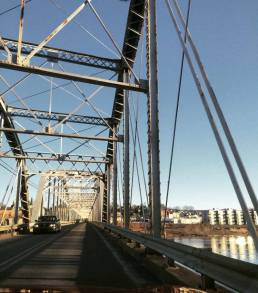 Pittston's Water Street Bridge.