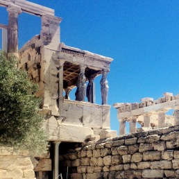 Athen & Poseidon: The Erechtheion.