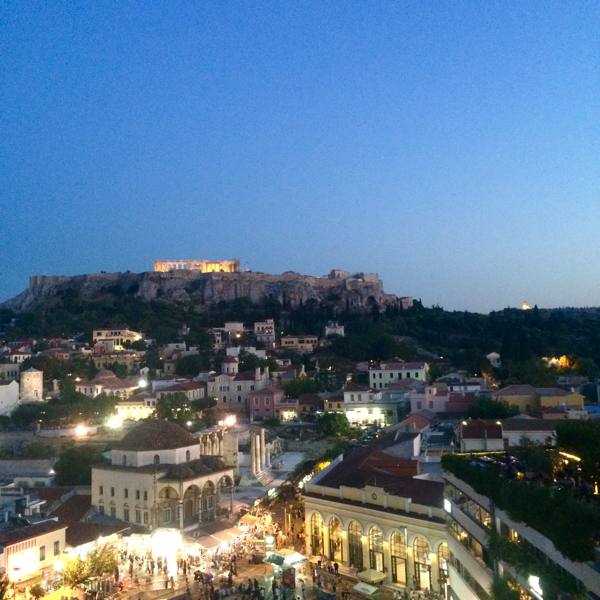 The night is upon Athens.
