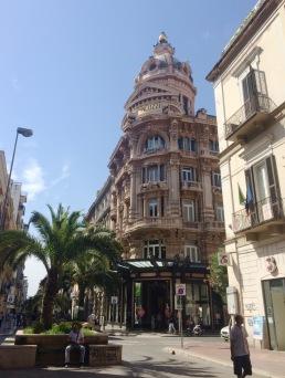 Shopping district in Bari.