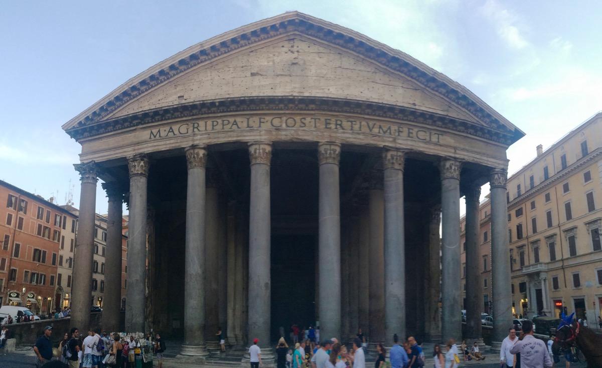 Pantheon Panorama.