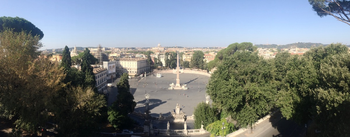 I remember this view ... it's been five years since I've visited Rome.