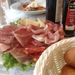All the meats! We ate the most in Milan at Ricette Tricolori.