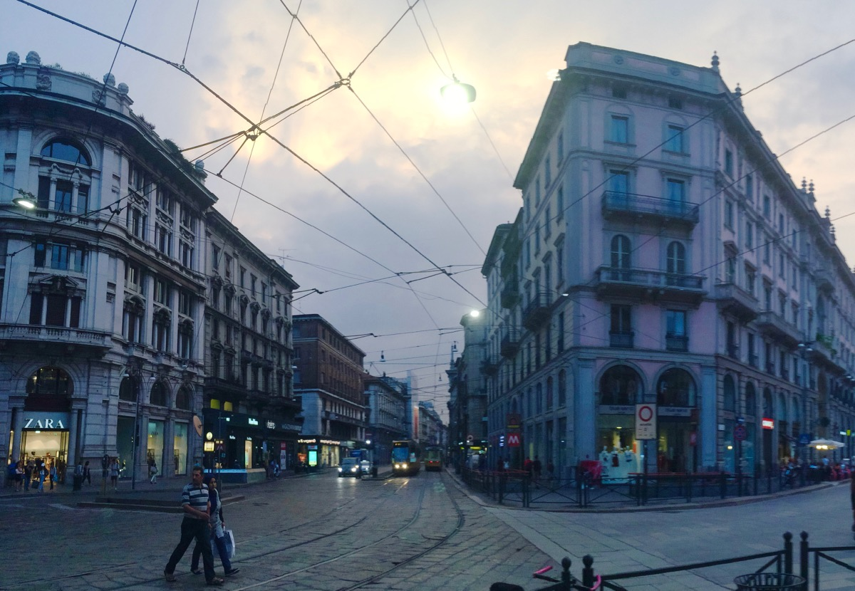 The Streets of Milan.