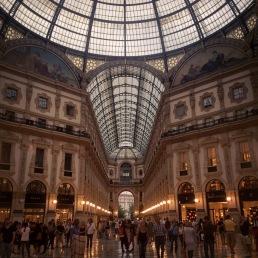 Galleria Vittorio Emanuele, Milano.