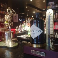 Hendrick's at The Doping Club.