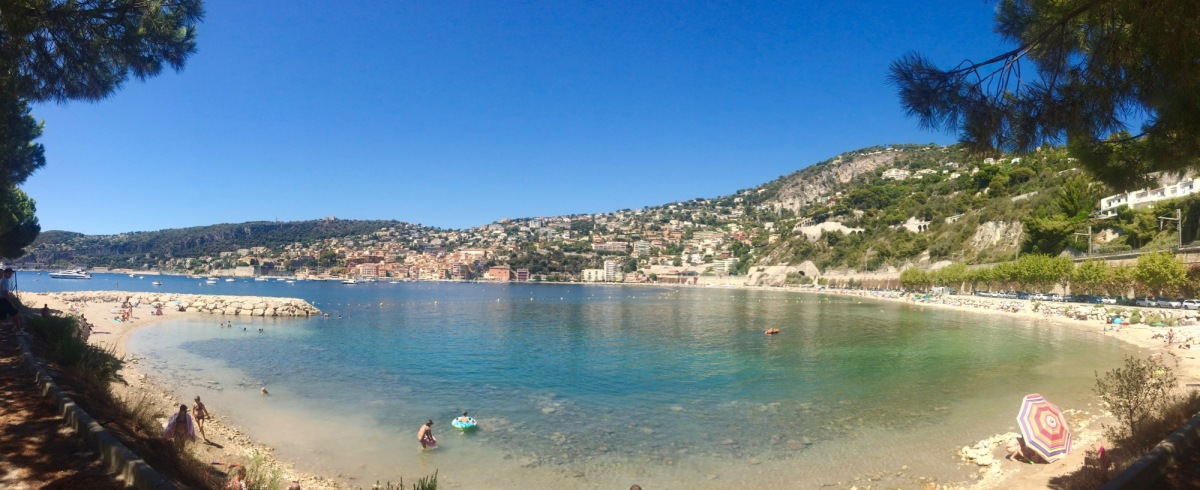 A small oasis on the French Riviera.