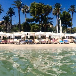Anao Plage, the French Riviera.