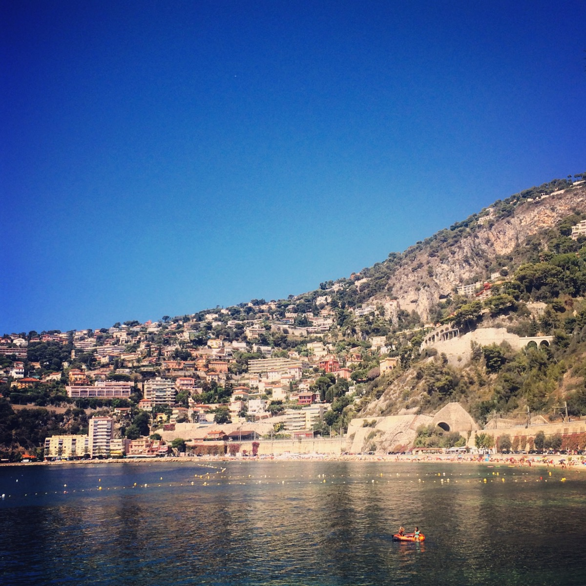 Villefranche-sur-Mer, Côte d'Azur.